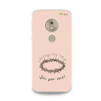 Capinha para Moto G7 Play - Foi por você