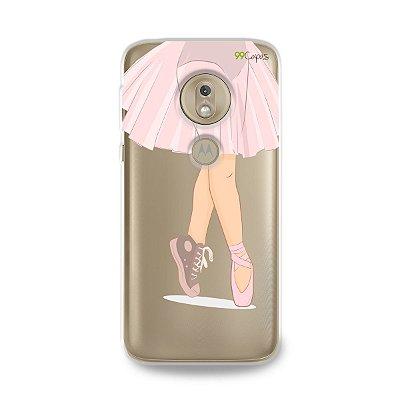 Capinha (transparente) para Moto G7 Play - Ballet