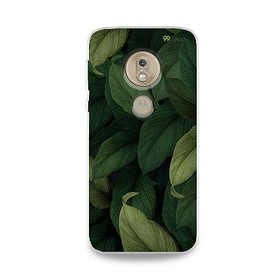 Capinha para Moto G7 Play - Folhas