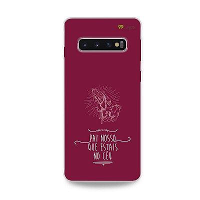 Capinha para Galaxy S10 Plus - Pai Nosso