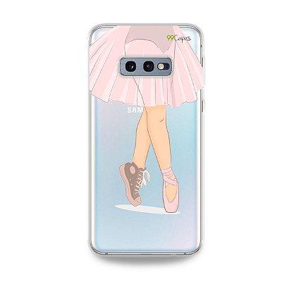 Capinha (transparente) para Galaxy S10e - Ballet