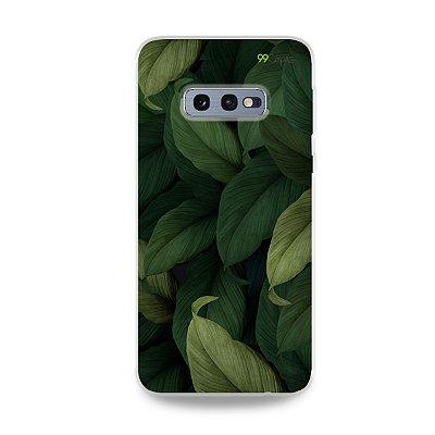 Capinha para Galaxy S10e - Folhas