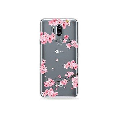 Capinha (transparente) para LG G7 ThinQ - Cerejeiras