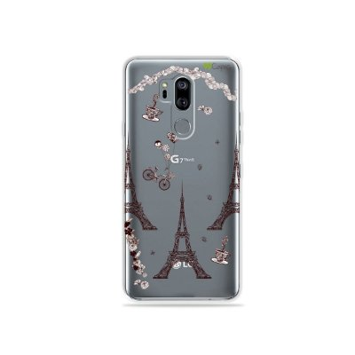 Capinha (transparente) para LG G7 ThinQ - Paris