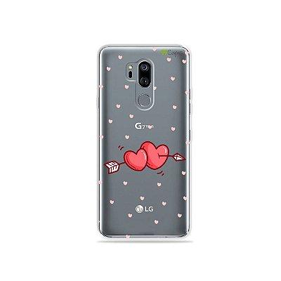 Capinha (transparente) para LG G7 ThinQ - In Love