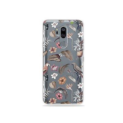 Capinha (transparente) para LG G7 ThinQ - Sweet Bird