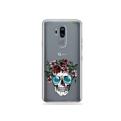 Capinha (transparente) para LG G7 ThinQ - Caveira