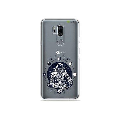 Capinha (transparente) para LG G7 ThinQ - Astronauta