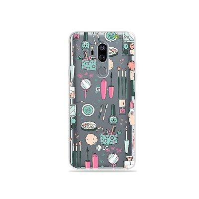 Capinha (transparente) para LG G7 ThinQ - Make Up
