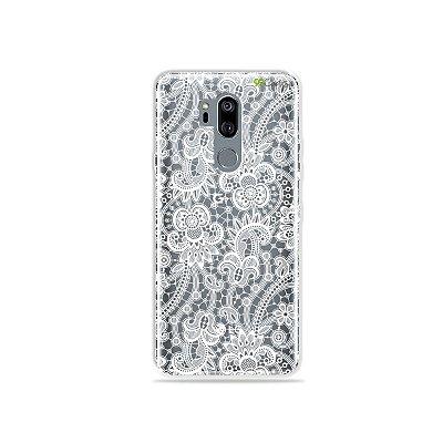 Capinha (transparente) para LG G7 ThinQ - Rendada