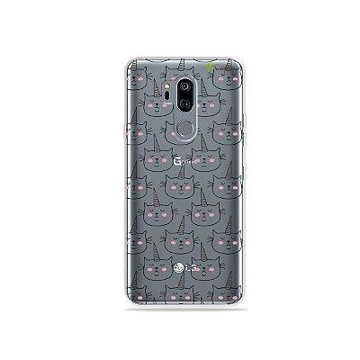 Capinha (transparente) para LG G7 ThinQ - Catcorn