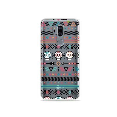 Capinha (transparente) para LG G7 ThinQ - Tribal
