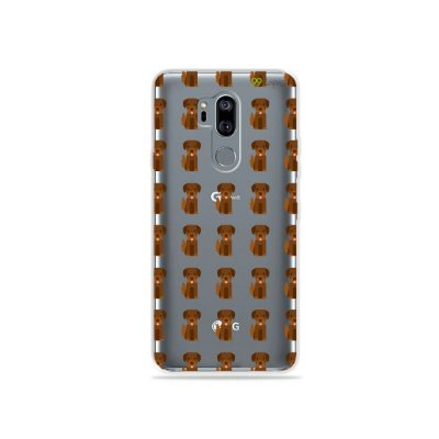 Capinha (transparente) para LG G7 ThinQ - Golden