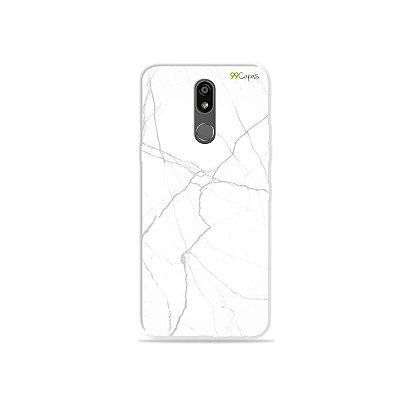 Capinha para LG K12 Plus - Marble White