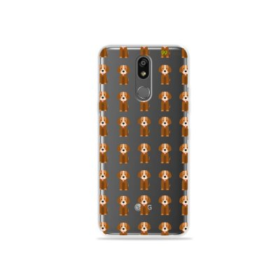 Capinha (transparente) para LG K12 Plus - Cocker
