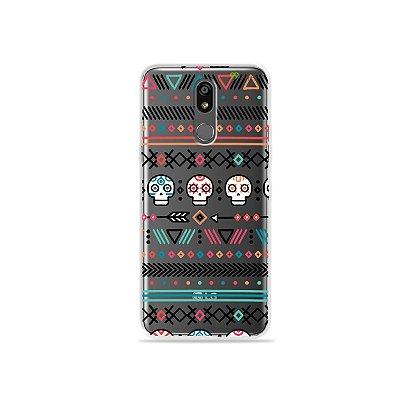 Capinha (transparente) para LG K12 Plus - Tribal