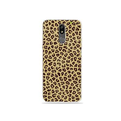 Capinha (transparente) para LG K12 Plus - Animal Print