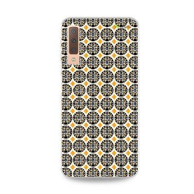 Capinha para Galaxy A7 2018  - Medalhão de São Bento