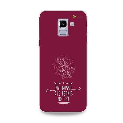 Capinha para Galaxy J6 - Pai Nosso