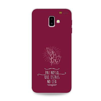 Capinha para Galaxy J6 Plus - Pai Nosso