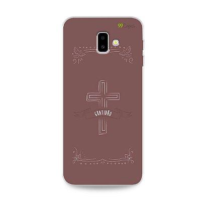 Capinha para Galaxy J6 Plus - Gratidão