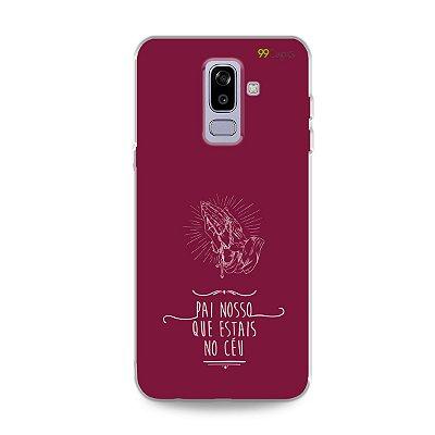 Capinha para Galaxy J8 - Pai Nosso