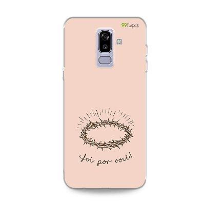 Capinha para Galaxy J8 - Foi por você