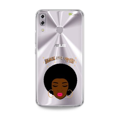 Capinha (transparente) para Zenfone 5 e 5Z - Black Lives