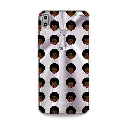 Capinha (transparente) para Zenfone 5 e 5Z - Black Girl