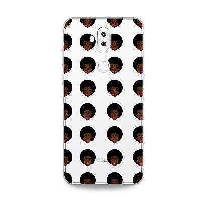 Capinha (transparente) para Zenfone 5 Selfie - Black Girl