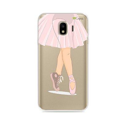 Capinha (transparente) para Galaxy J4 2018 - Ballet