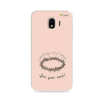 Capinha para Galaxy J4 2018 - Foi por você