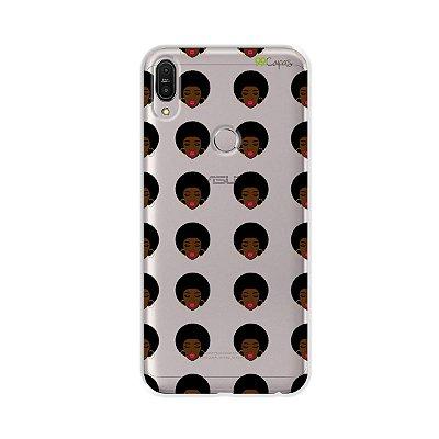 Capinha (transparente) para Zenfone Max Pro - Black Girls