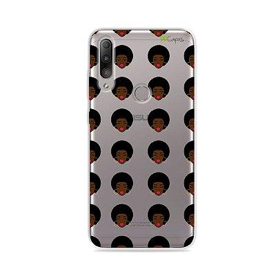Capinha (transparente) para Zenfone Max Shot - Black Girl