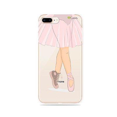 Capinha (transparente) para iPhone 8 Plus - Ballet