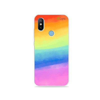 Capinha para Mi 8 - Rainbow