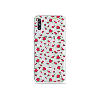 Capinha (transparente) para Galaxy A70s - Mini Melancias