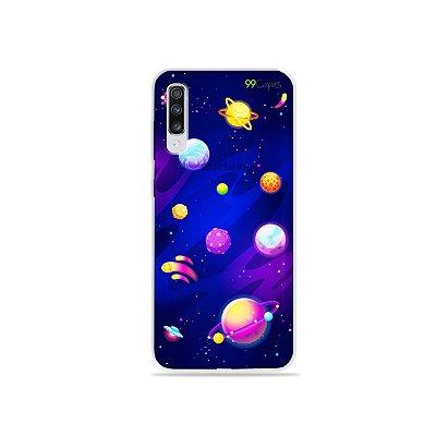 Capinha para Galaxy A70s - Galáxia