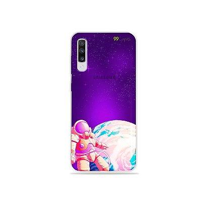 Capinha para Galaxy A70s - Selfie Galáctica