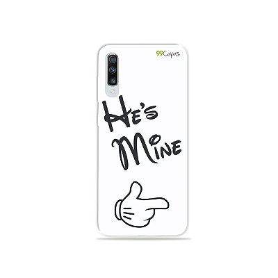 Capinha para Galaxy A70s - He's Mine