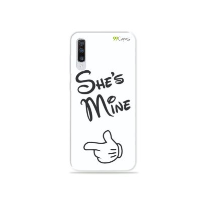Capinha para Galaxy A70s - She's Mine