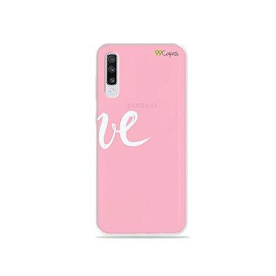 Capinha para Galaxy A70s - Love 2