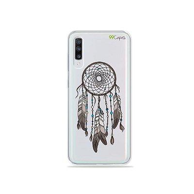 Capinha (transparente) para Galaxy A70s - Filtro dos Sonhos