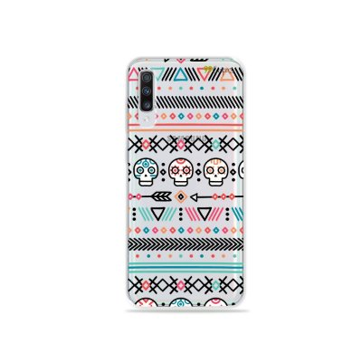 Capinha (transparente) para Galaxy A70s - Tribal