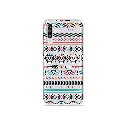 Capinha (transparente) para Galaxy A70s - Tribal