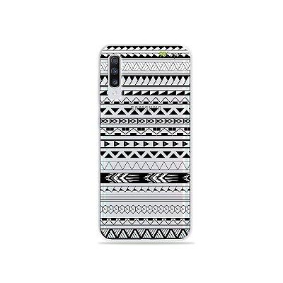 Capinha (transparente) para Galaxy A70s - Maori Branca