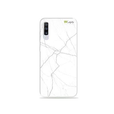 Capinha para Galaxy A70s - Marble White