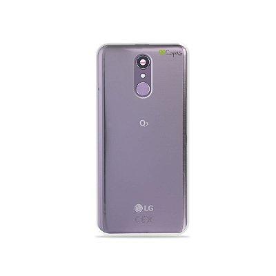 Capinha Para LG Q7 - Transparente