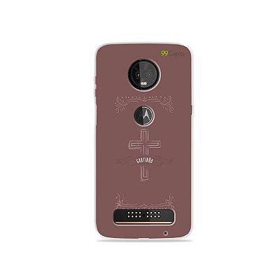 Capinha para Moto Z3 Play - Gratidão