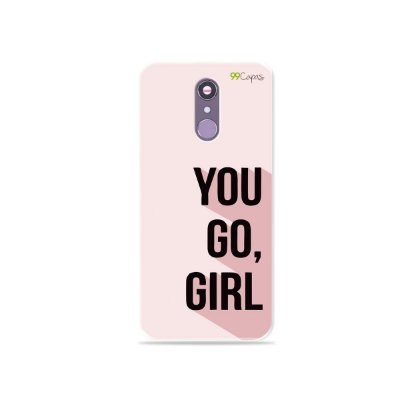 Capinha para LG Q7 - You Go, Girl